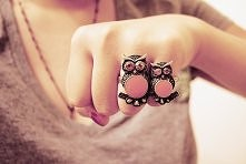 sówki pierścionki ^.^