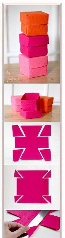 Filcowe pudełeczka