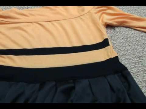 jak z bluzki zrobić sukienkę