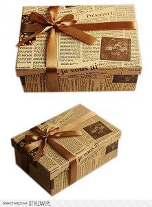 pudełeczko na prezent