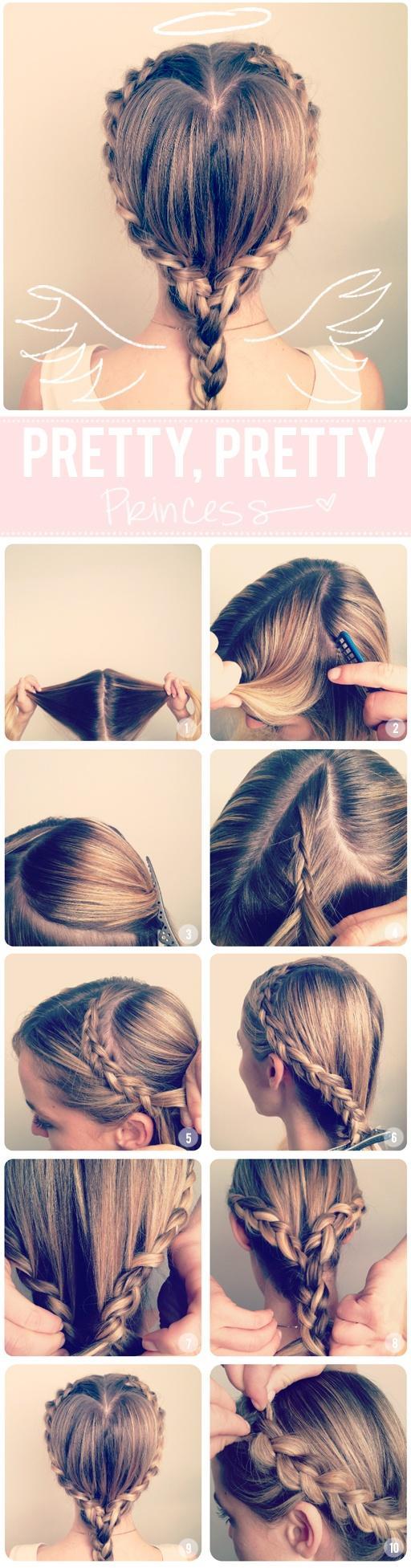 20 красивых и простых причесок на средние волосы 18