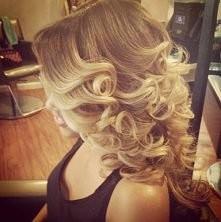 Blond loczki... piękne
