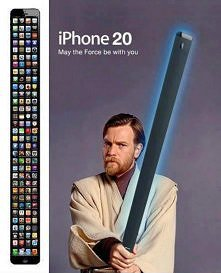 haha, nowy iPhone!