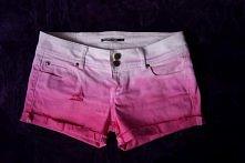 My DIY ombre shorts! Jak je...