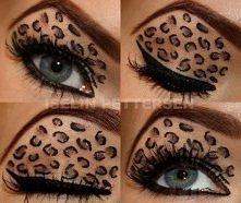panterkowy makijaż