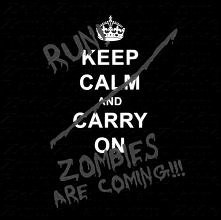 Keep calm and Run :D