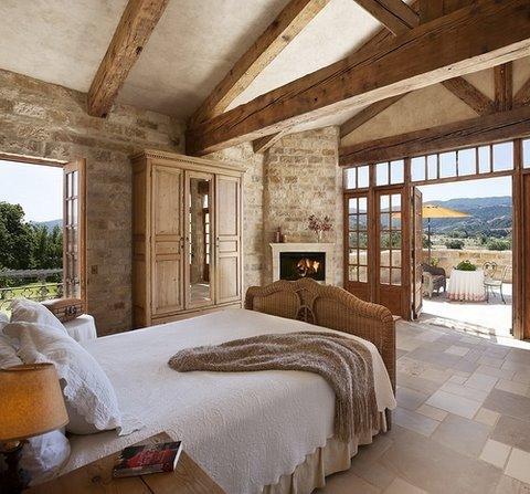 Niesamowita sypialnia na wymarzony design wystr j wn trza - Techos rusticos interiores ...