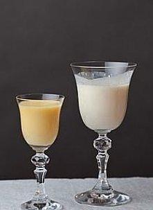 Domowe malibu Składniki: 200g wiórków kokosowych 250ml spirytusu 1 puszka mleka skondensowanego niesłodzonego 1 puszka mleka skondensowanego słodzonego  Wykonanie: Wiórki wsypuj...