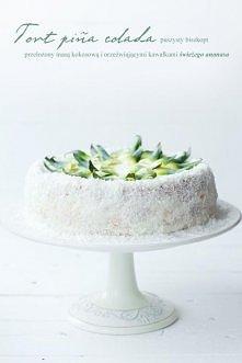 Tort kokosowo - ananasowy. Przepis po kliknięciu na zdjęcie :)
