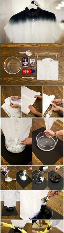 Barwienie ubrań