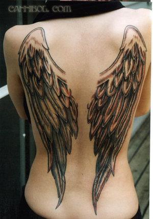 Skrzydła Tatuaż Na Całe Plecy Na Tattoo Zszywkapl