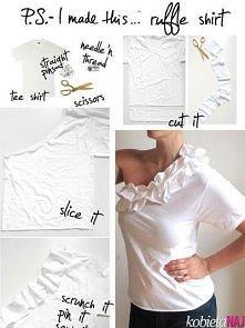 Pomysł na nową bluzkę