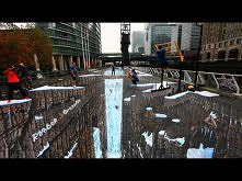Reebok CrossFit: Guinness World Record for Largest 3D Street Art