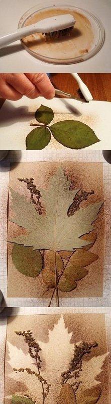 listki i gałązki