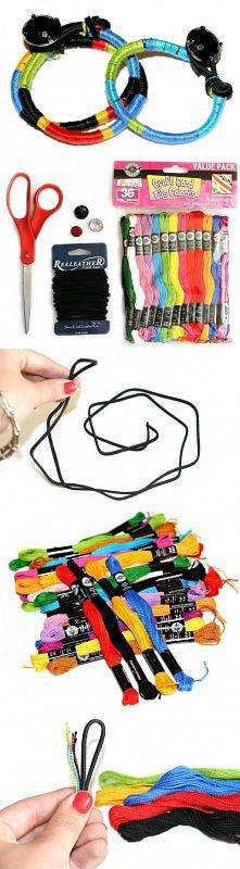 Super pomysłowa bransoletka ;)