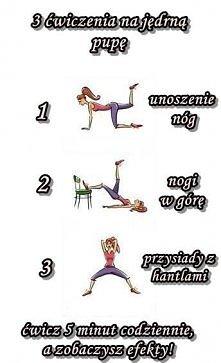 ćwiczenia na pupę :)