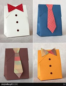 opakowania w sam raz na prezent dla panów