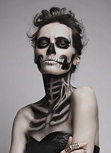 Make-up taki na halloween klaudyna robimy sobie na halloween ok?