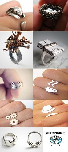 Boskie pierścioneczki :)