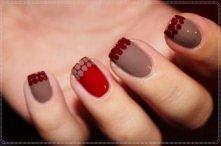 Prosty i elegancki manicure na jesień ♥