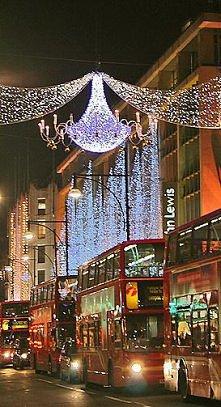 światecznie... Londyn