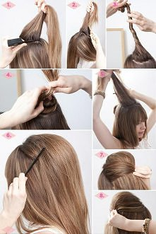 szybka fryzura