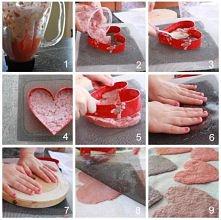 Handmade Paper Valentines
