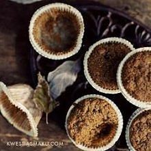 Muffinki razowe z dynią. kw...