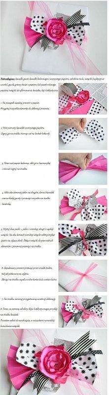 Jak elegancko zapakować prezent. (ślub, święta, urodziny...)