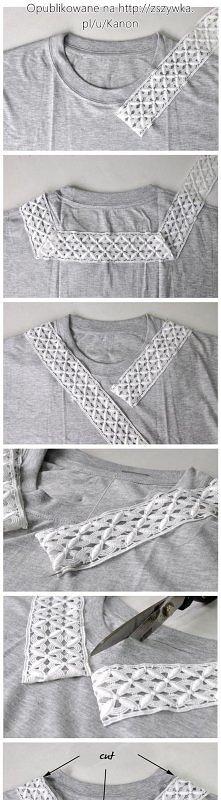 Jak zrobić ładną koszulkę.