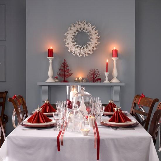 świąteczny Stół Na Boże Narodzenie święta Christmas