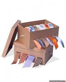 pudełko na wstążki