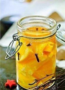 Rum z pomarańczami