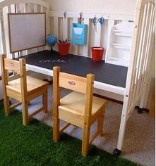 baaardzo fajny, wręcz rewelacyjny pomysł do pokoju dziecka :)