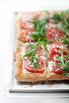 Tarta francuska z pomidoram...
