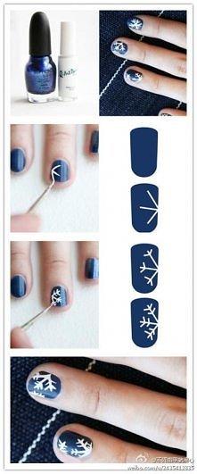 tutorial malowania paznokci