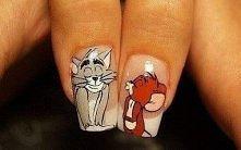 `jakie słodkie ;d Tom & Jerry <3