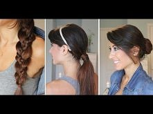 Easy Back-To-School Hairstyles