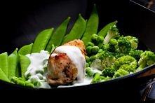brokuł z kurczakiem