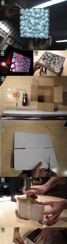 Domowej roboty kalejdoskop