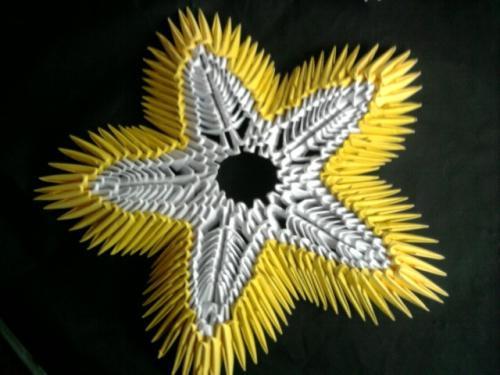 gwiazdka origami :)