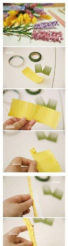 Bukiecik z papieru