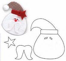 Mikołaj z szablonem