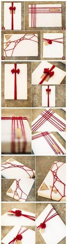 Pomysł na spakowanie prezentu