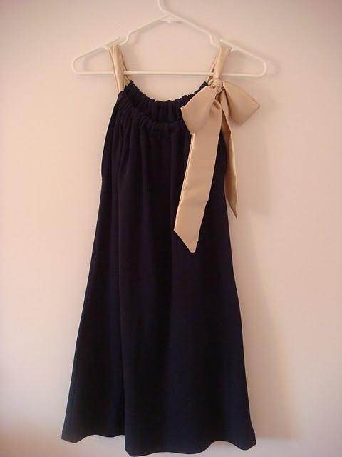 sukieneczka z poszeweczki ;-)