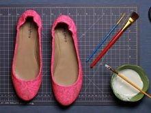 Koronkowe buciki