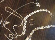 czyszczenie srebrnej biżuterii - sposób 2