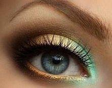 zielono-złoty