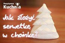 Serwetka - choinka