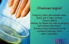 oliwkowa kąpiel dla dłoni